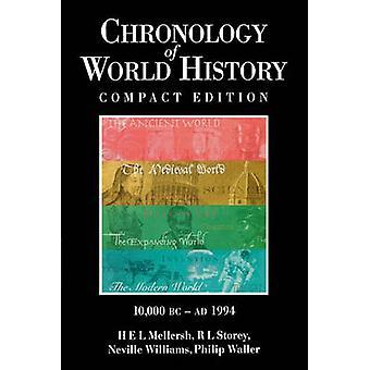 Chronology of World History by Mellersh & H. E.