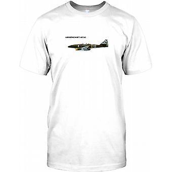 Messerchimitt ME262 - Luftwaffe Fighter fly børn T Shirt