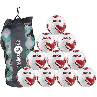 10 x JAKO training ball striker 2.0 includes ball sack