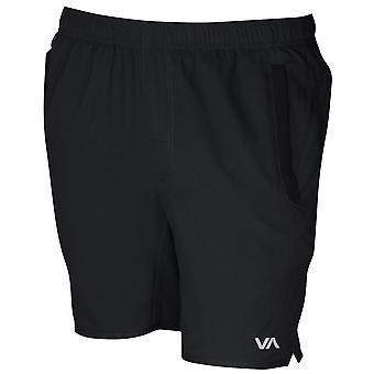 RVCA Mens VA Sport Yogger III Training Shorts - Black