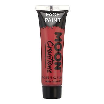 Face & Body Paint by Moon Creations - 12ml - Red