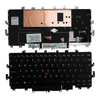 Lenovo ThinkPad x1 Carbon neljäs Gen musta kehys taustavalaistu musta Windows 8 UK layout korvaaminen Laptop Keyboard