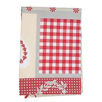 Stow Green Nordic Patchwork Tea Towel