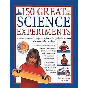 150 Great Science Experiments by Chris Oxlade - 9781782142157 Book