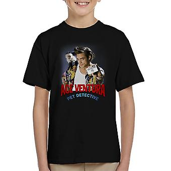 Ace Ventura Pet Detective Monkey And ID Card Kid's T-Shirt