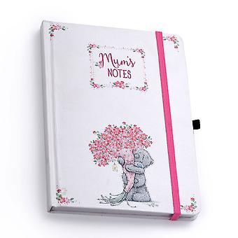 Moi pour vous les mères jour cahier et stylo ensemble notes de maman
