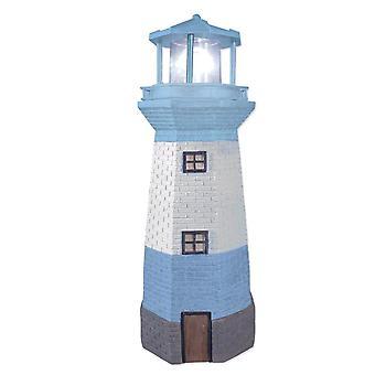 Benross Gardenkraft Solar Flashing Lighthouse Garden Ornament Light