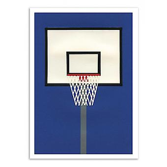 Art-Poster - Oakland Basketball Team - Rosi Feist 50 x 70 cm