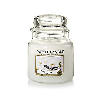 Yankee kynttilän klassinen keskikokoinen jar vanilja kynttilä 411g