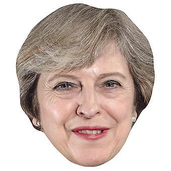 Theresa May Single 2D Card Party Face Mask Theresa May Single 2D Card Party Face Mask Theresa May Single 2D Card Party Face Mask Theresa May
