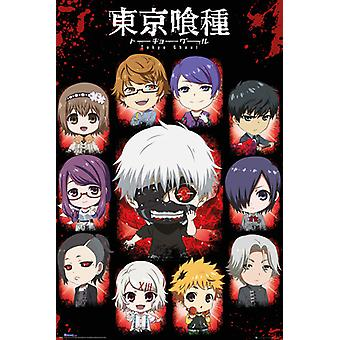 Tokyo Ghoul chibi characters Maxi Poster 61x91.5cm