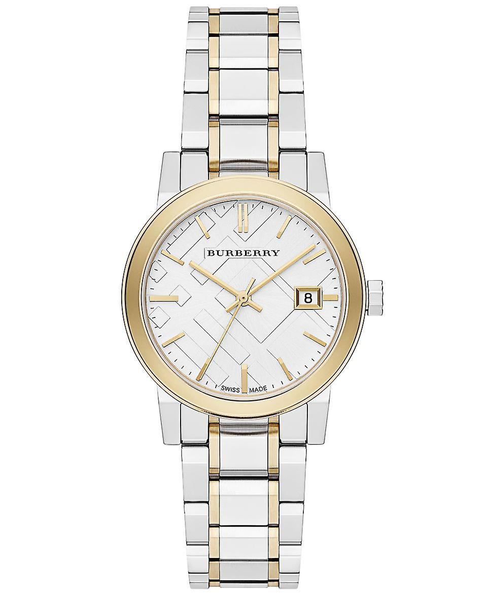 Burberry Bu9217 Two-tone Check Ladies Watch