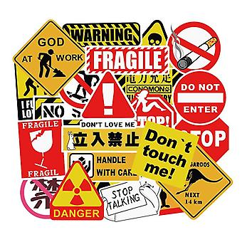 Stickers, 50 pack-Signs