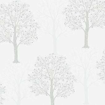Holden Decor Holden Ornella Tree Pattern Fond d'écran italien Vinyl Glitter Forest Motif 35253