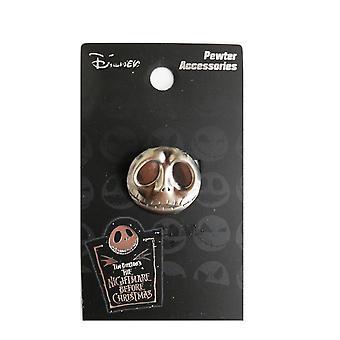 Pin - Disney - Nightmare Before Christmas - Jack Head Metal Gift 26809