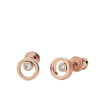 Skagen Stainless Steel Women's Earrings with Round Cubic Zirconia SKJ0853791
