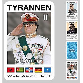 Tyran 2 kvartetten diktatorer kvartetten kortspil