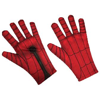 Spiderman Kids Gloves Red/Bllue