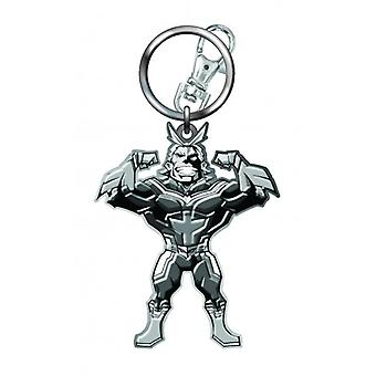 Metal Key Chain - My Hero Academia - All Night Pewter New 70088