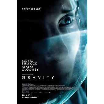 Gravity affisch dubbelsidig Regular Style B (2013) original Cinema affisch