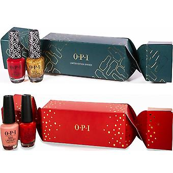 OPI Christmas Nail Polish Collection - Duo Christmas Crackers (4 X 15ml)