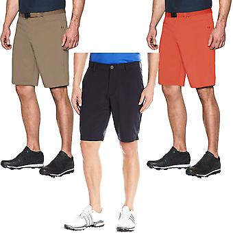 Under Armour mens Match Play taps toelopende golf sport training shorts bodems