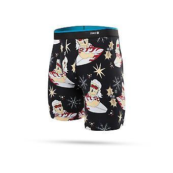 Stance Surfin Santa Underwear in Black