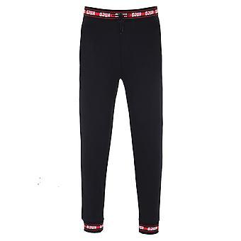 HUGO Doak 201 svart & röd tejpade Sweatpants
