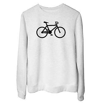 Felpa girocollo donna bianco wtc1329 klaar bike gear