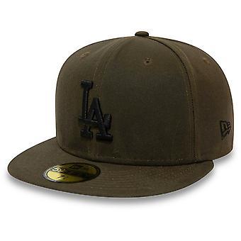 Nieuwe tijdperk 59Fifty Cap-UTILITY Los Angeles Dodgers Olive