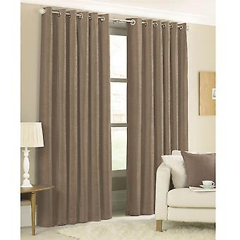 Linens and Lace Faux Silk Curtains Fully Lined Metal Rings Linens and Lace