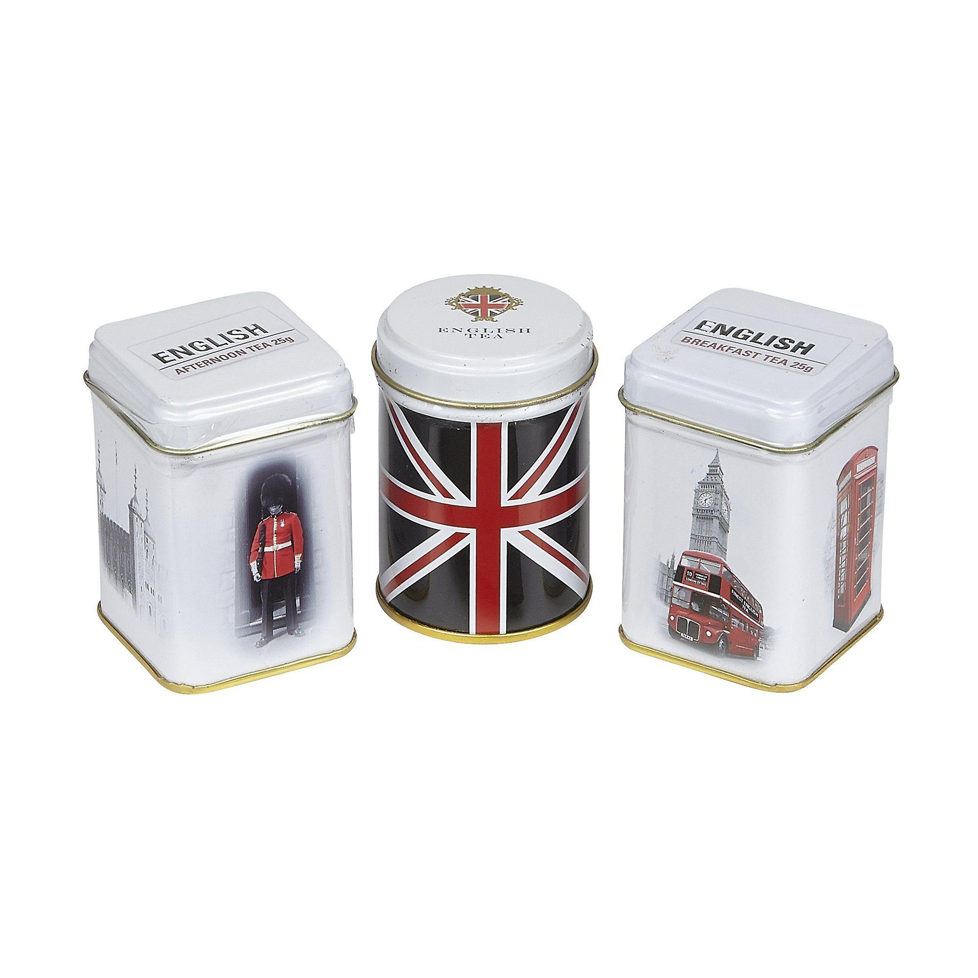 Best of british triple tea selection mini tin gift pack