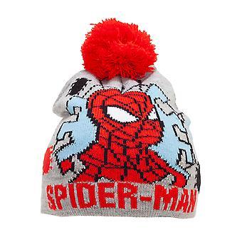 Spider-Man Childrens/Kids Beanie Bobble Hat