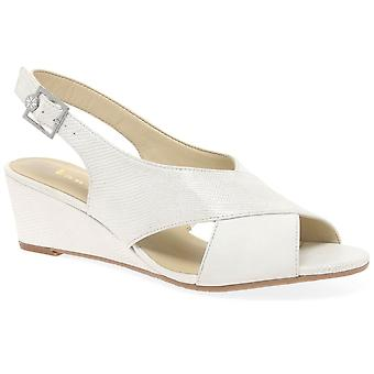 Van Dal Westwood Womens Wedge Heel Sandals