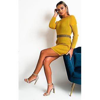 IKRUSH Womens Zaniyah Knitted Jumper Dress