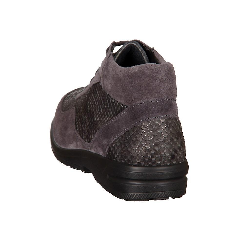 Solidus Hella 28003 20381 Anthrazit Sportvelour Viper 2800320381 universelle kvinner sko