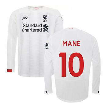 2019-2020 Liverpool Away langærmet skjorte (mane 10)