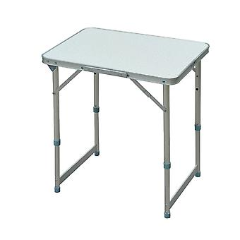 Outsunny Garden Outdoor Camping Table Portable Folding Picnic Table Aluminium Frame 60L x 45W x 65H (cm)