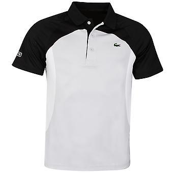 Lacoste Herre 2020 DH4748 ribbede krave kortærmet krokodille tennis Polo skjorte