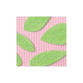 Katy Sue Designs Katy Sue Stitched Leaves Mould
