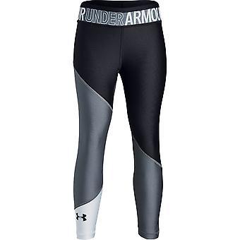 Under Armour Girls Heatgear® farge blokk ankel beskjære leggings