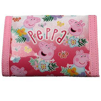 Peppa Pig barn/barnas alle over print wallet