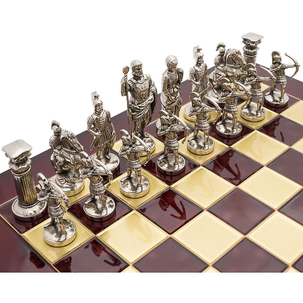 The Manopoulos Archers Luxury Chess Set with Wooden Case