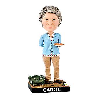 Kävelevä kuollut Carol Resin Bobble Pää