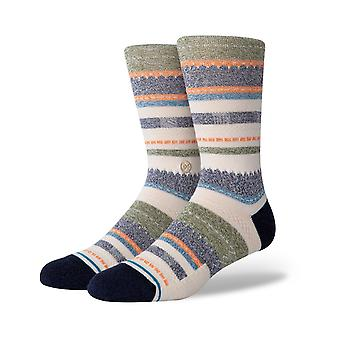 Stance Tucked In Crew Socken in Navy