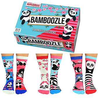 United Oddsocks Women's Bamboozle Socks Gift Set