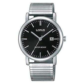 Lorus Watches classic wristwatch analog quartz stainless steel lined rg857cx9