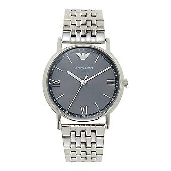 Armani Watches Ar11068 Grey Dial & Silver Stainless Steel Men's Watch