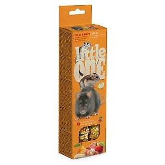 Little One Palitos de Snacks con Frutas y Nueces (Small pets , Treats)