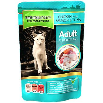 Natures Menu Chicken With Salmon & Tuna Meal For Cats (Cats , Cat Food , Wet Food)